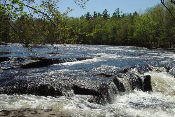 The Saco River in Standish
