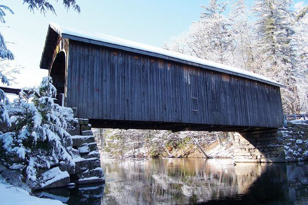Covered bridge in Windham
